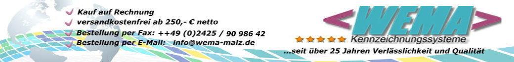 WEMA Kennzeichnungssysteme Annett Nußbaum-Malz-Logo